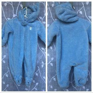Baby Boy 6 Month Warm Baby Romper-